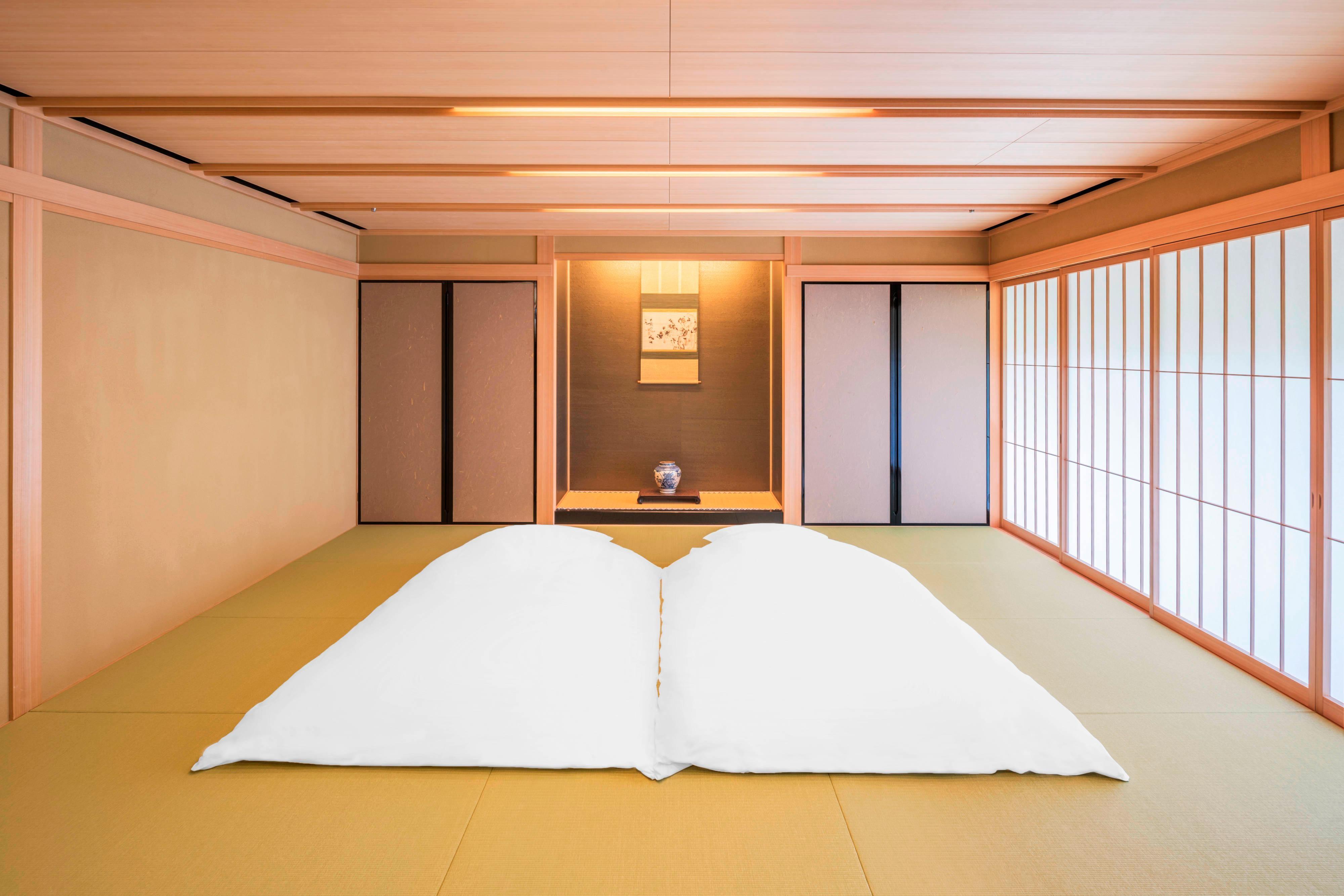 Kyo Tsukikoto Japanese Futon Setup