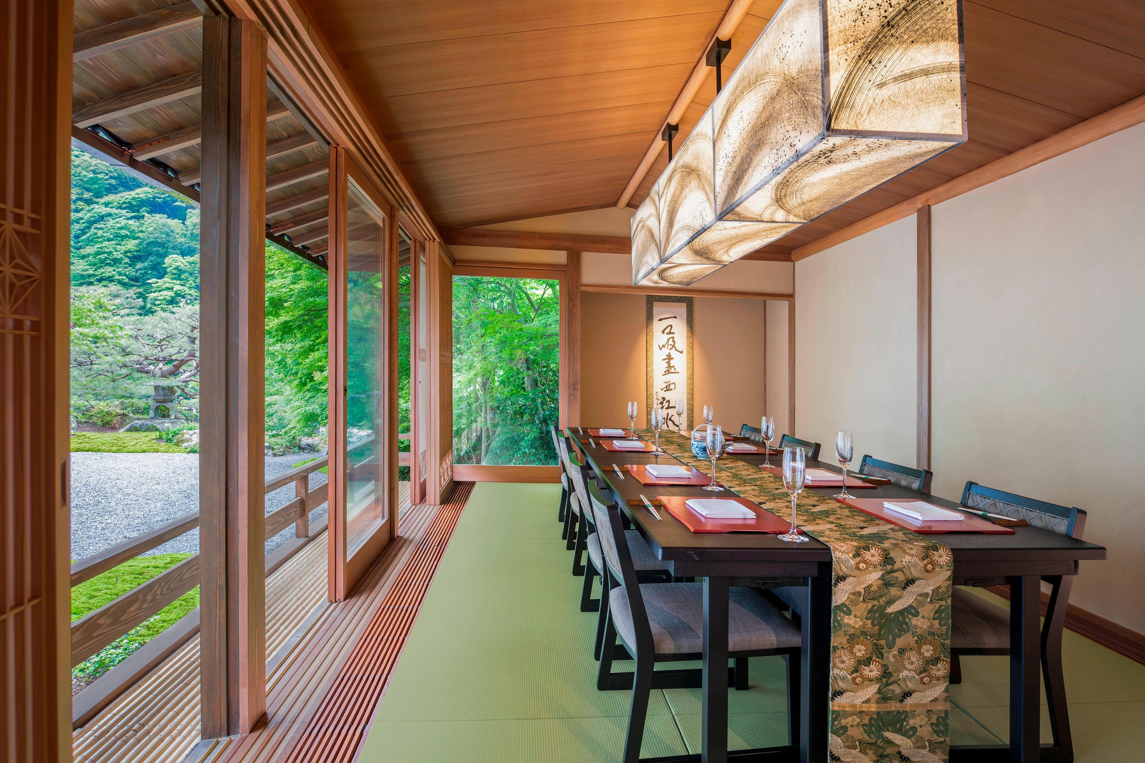 Kyo Suiran, Private Room Shogetsu