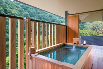 Suiran Presidential Corner Suite Open Air Bath