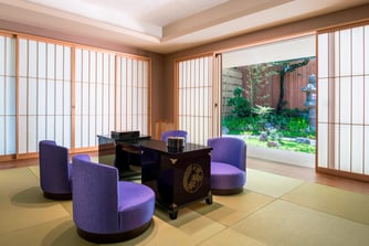 Gyokuto Garden Terrace Suite - Living Room
