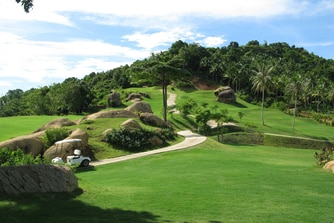 golf in Samui Thailand