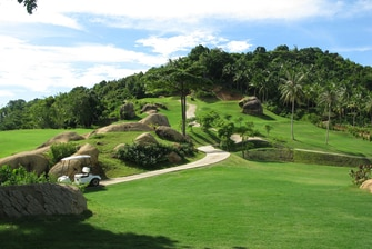 Golf in Samui, Thailand