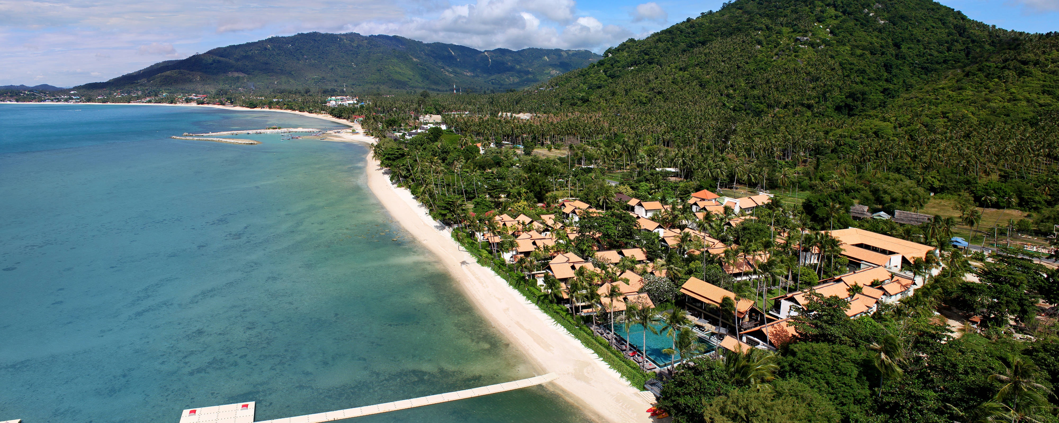 Aerial of the Resort