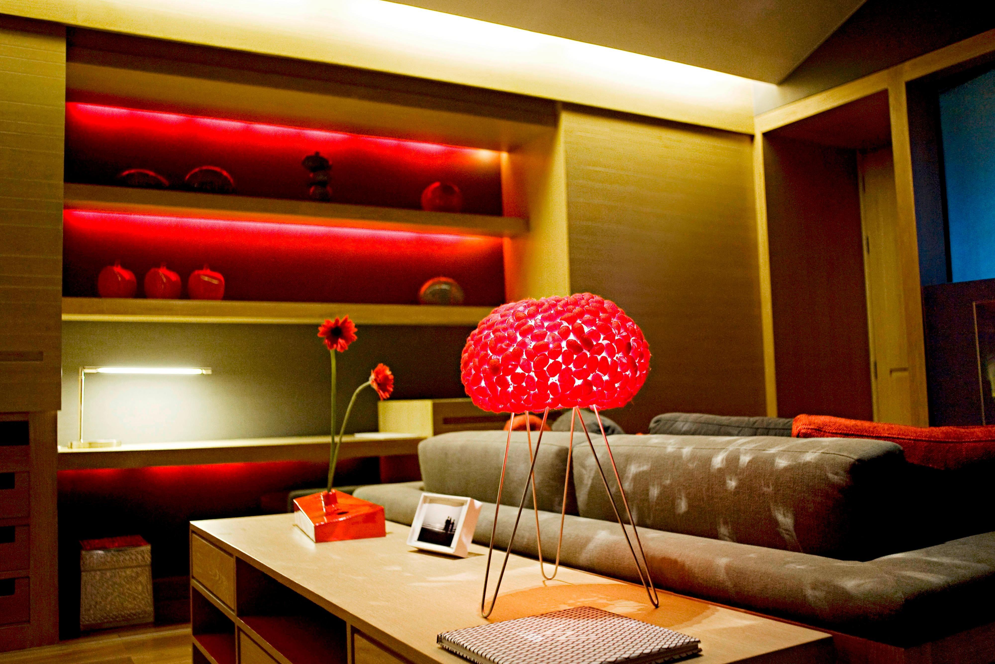 Retreat - Living Room Night