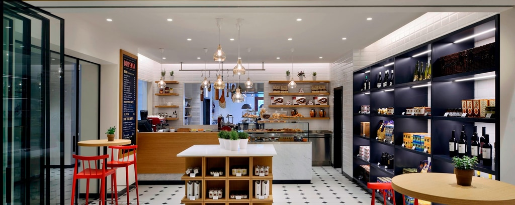 Venice resort informal bar