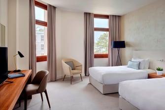 Quarto de hotel Deluxe em Veneza