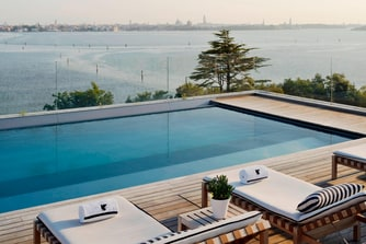 Rooftop Pool at Venice Resort