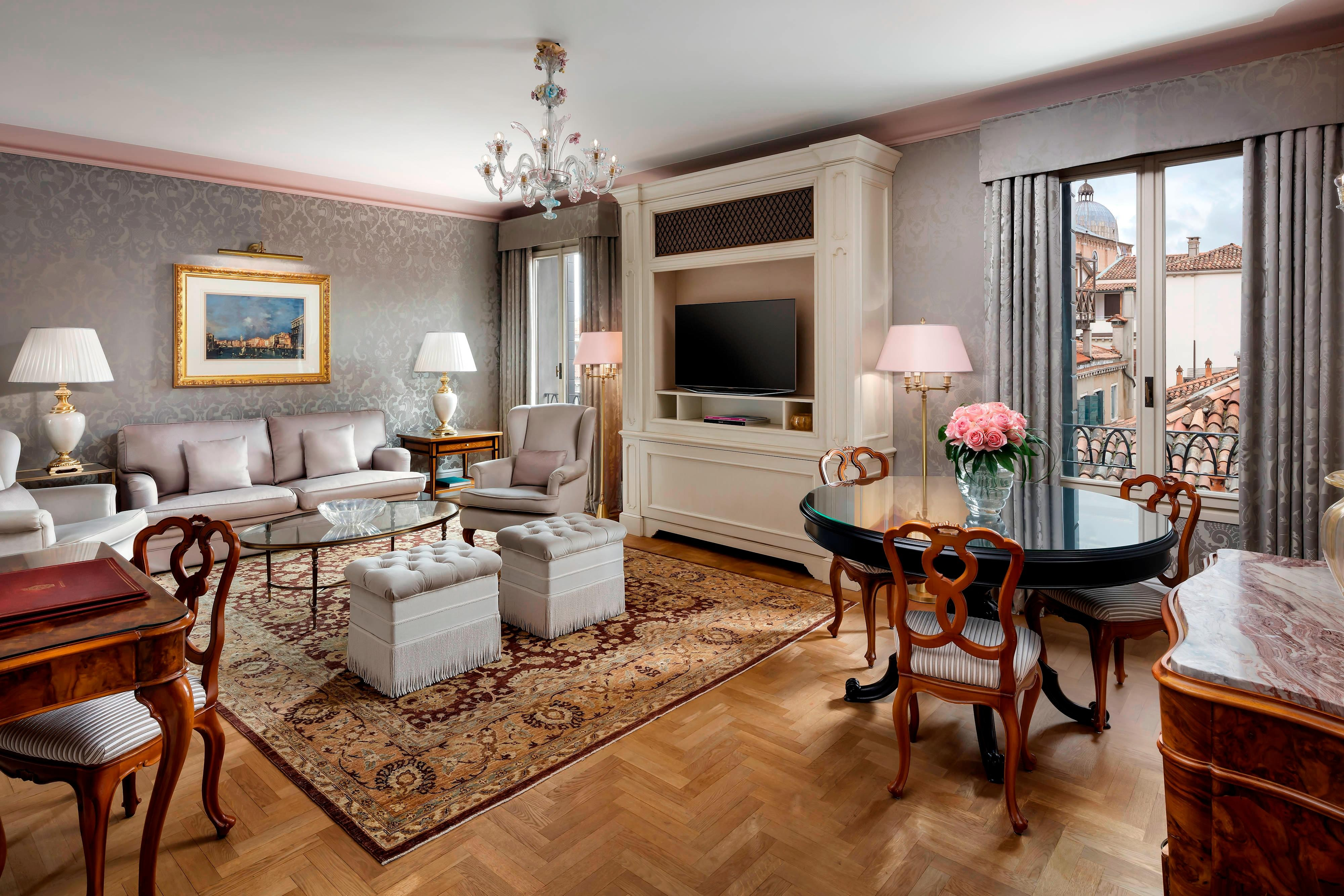 Grand Dandolo Suite Salon