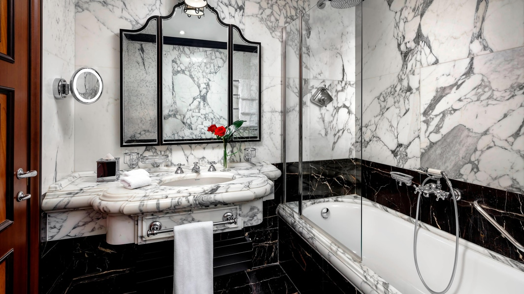 Double/Double Luxury Guest Bathroom