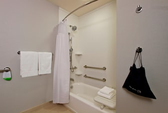 Accessible Queen/Queen  Guest Bathroom
