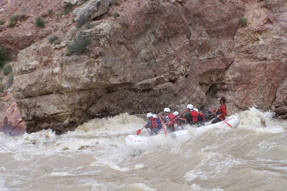 river rafting in Utah