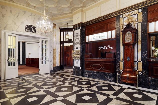 Entrance Lobby & Concierge
