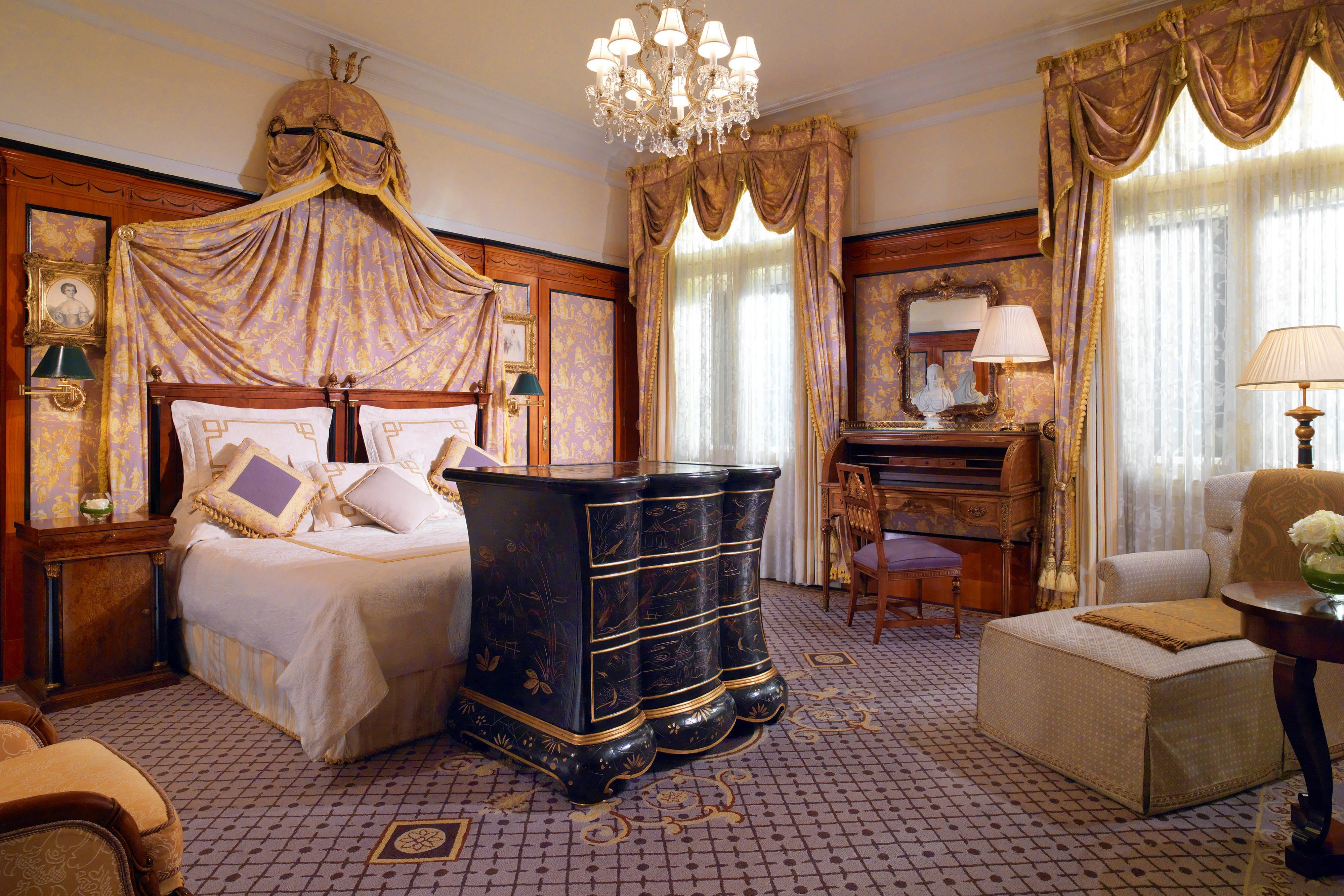 Prince of Wales Suite – Schlafzimmer
