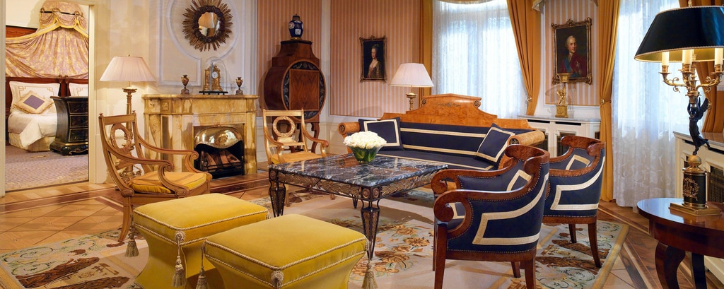 Prince of Wales Suite - Living Room