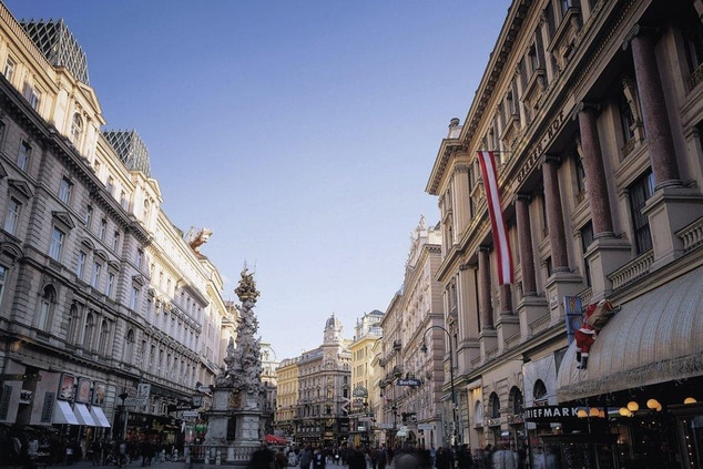 Vienna city center, Graben