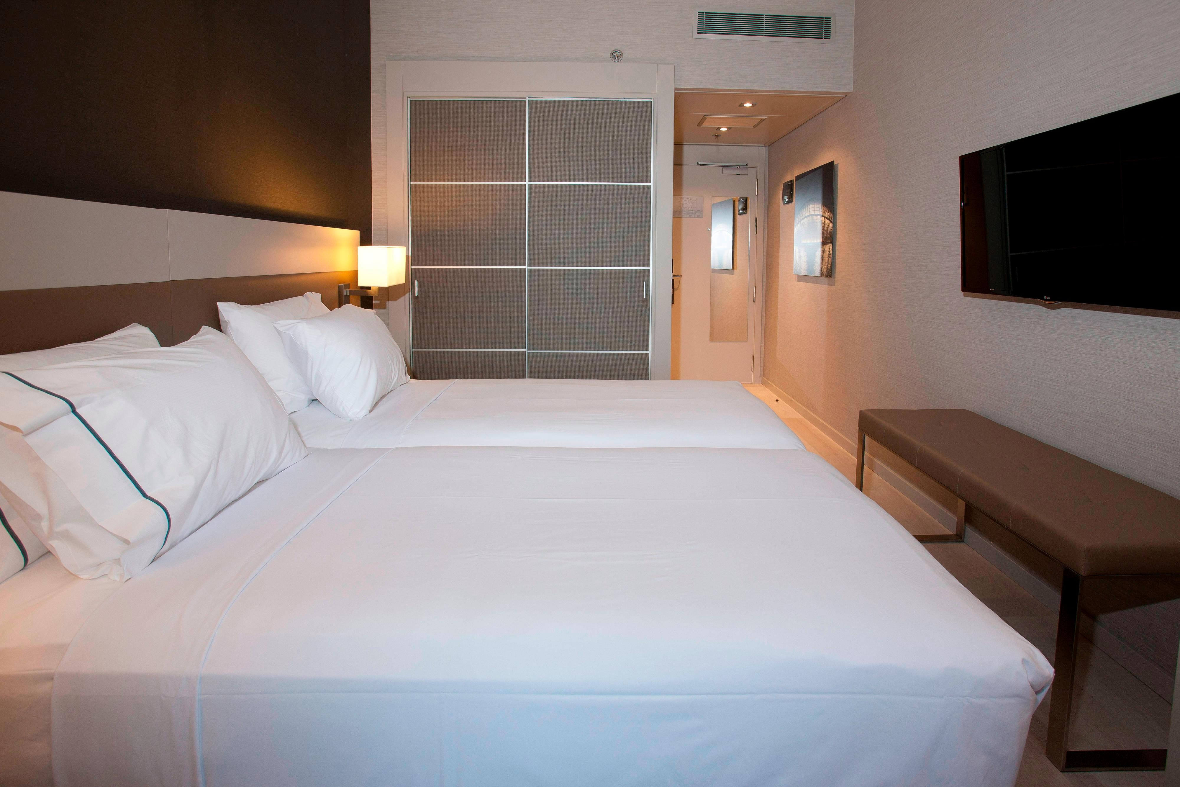 Twin standard rooms in Valencia