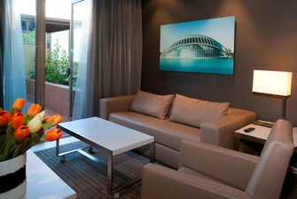 Junior suites in Valencia hotel city