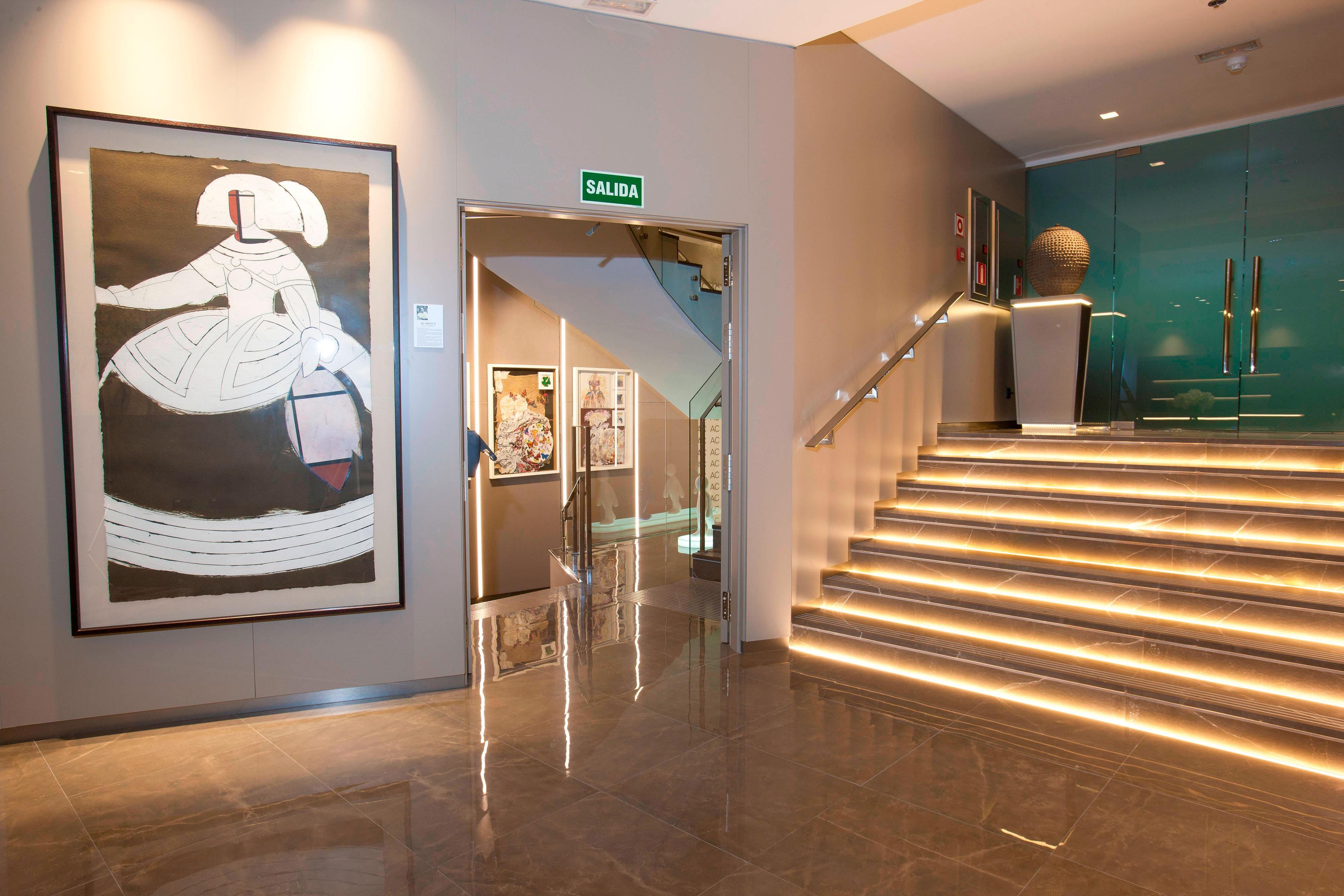 Reception in Valencia city center