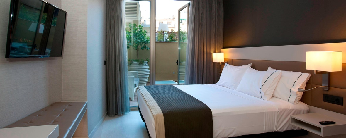 Hotel a Valencia con suite Junior