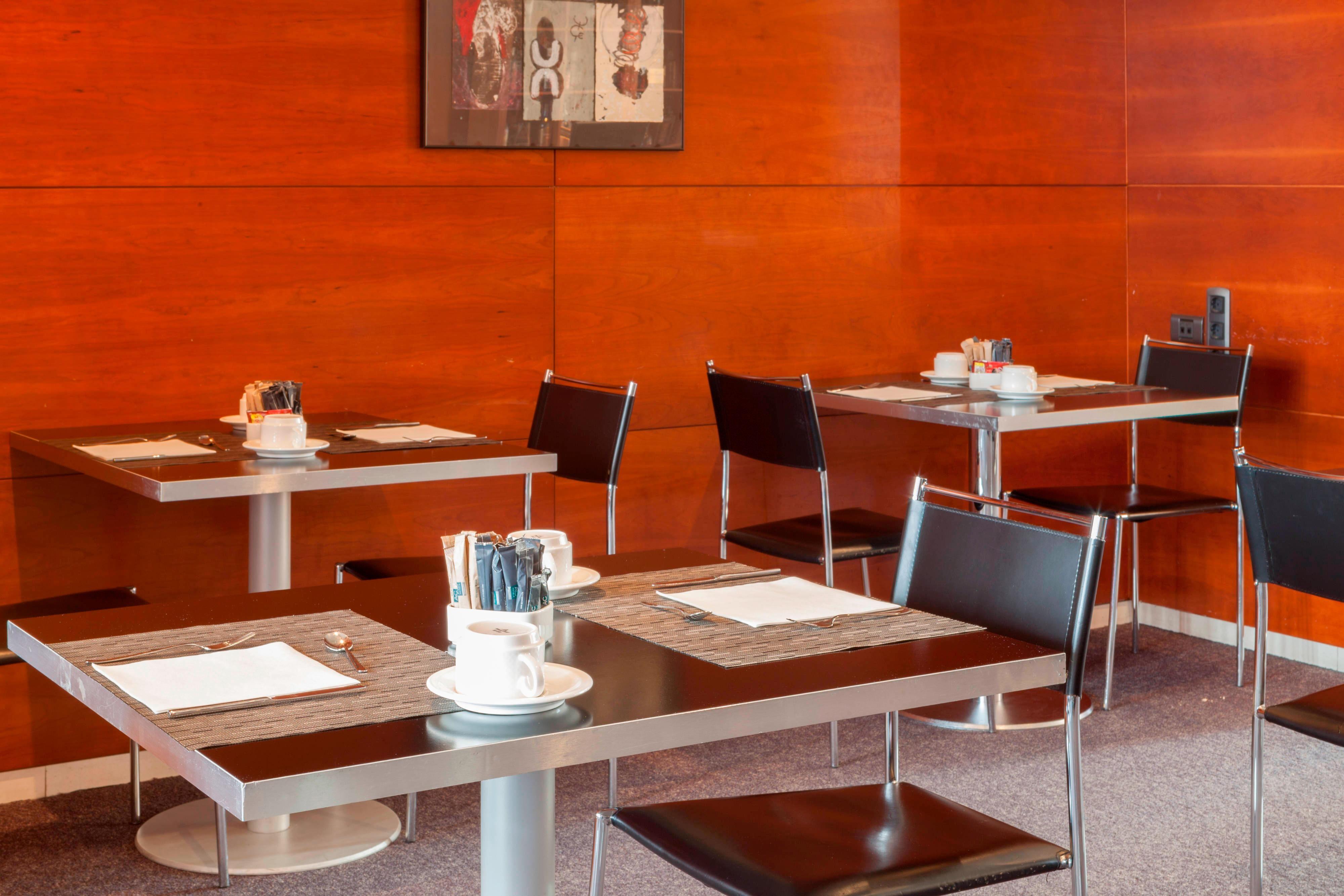 Desayuno bufetdel Hotel Palencia