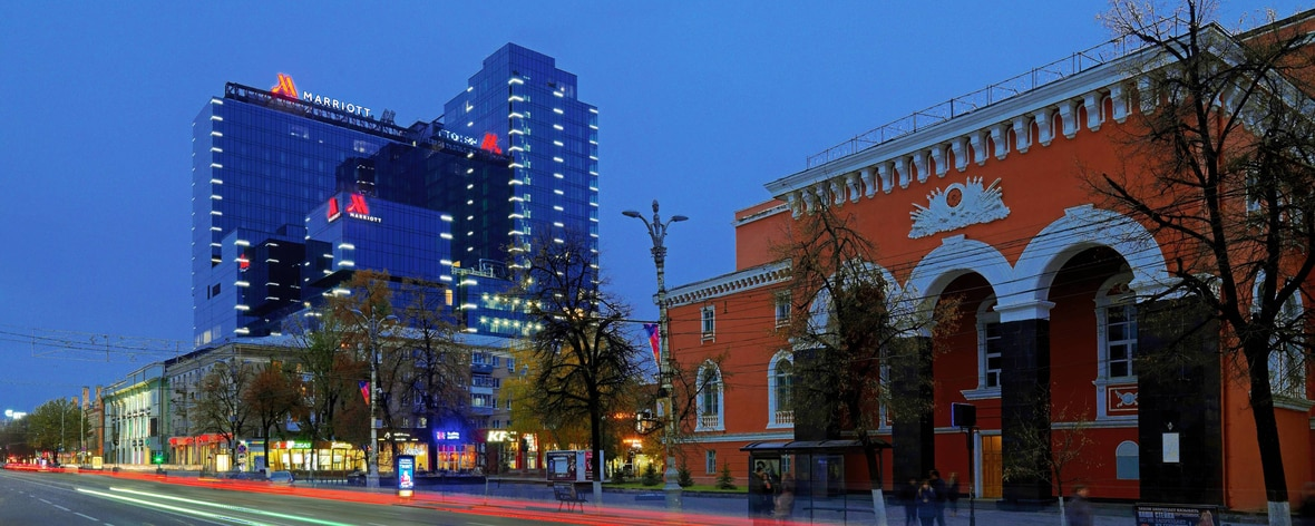 City Centre Hotel In Voronezh Russia Voronezh Marriott