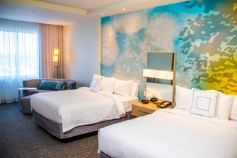 two queen accommodations in destin