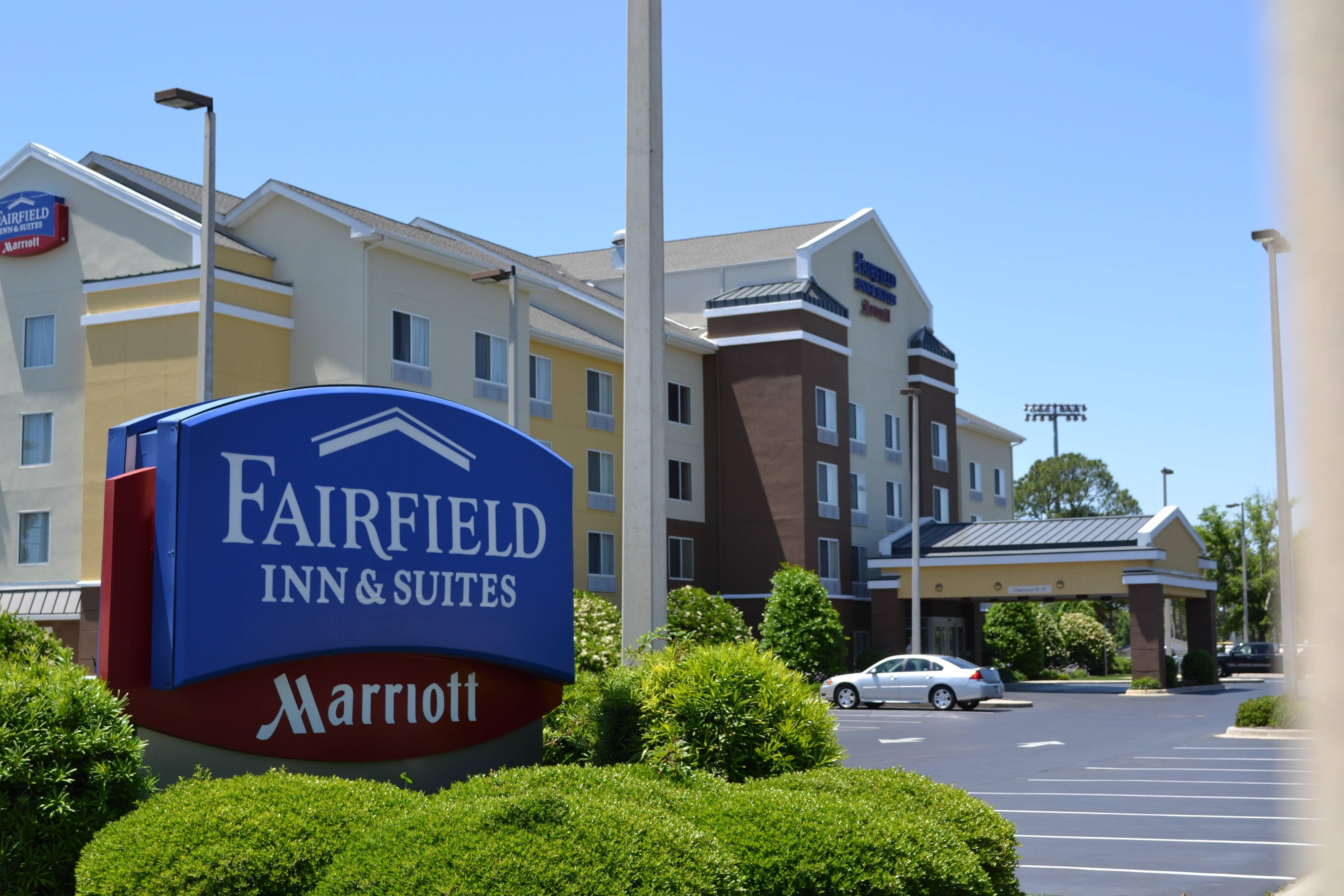 Fort Walton Beach Hotel Entrance