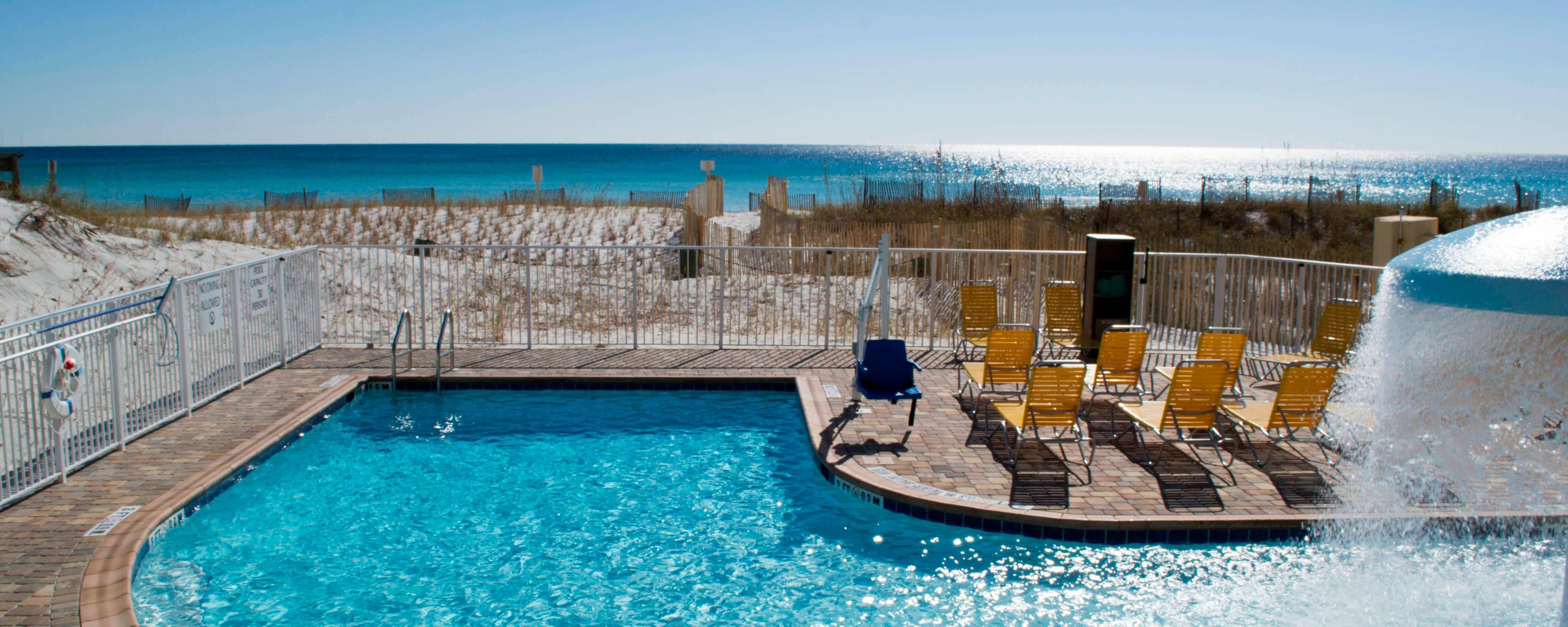 Fort Walton Hotel mit Pool