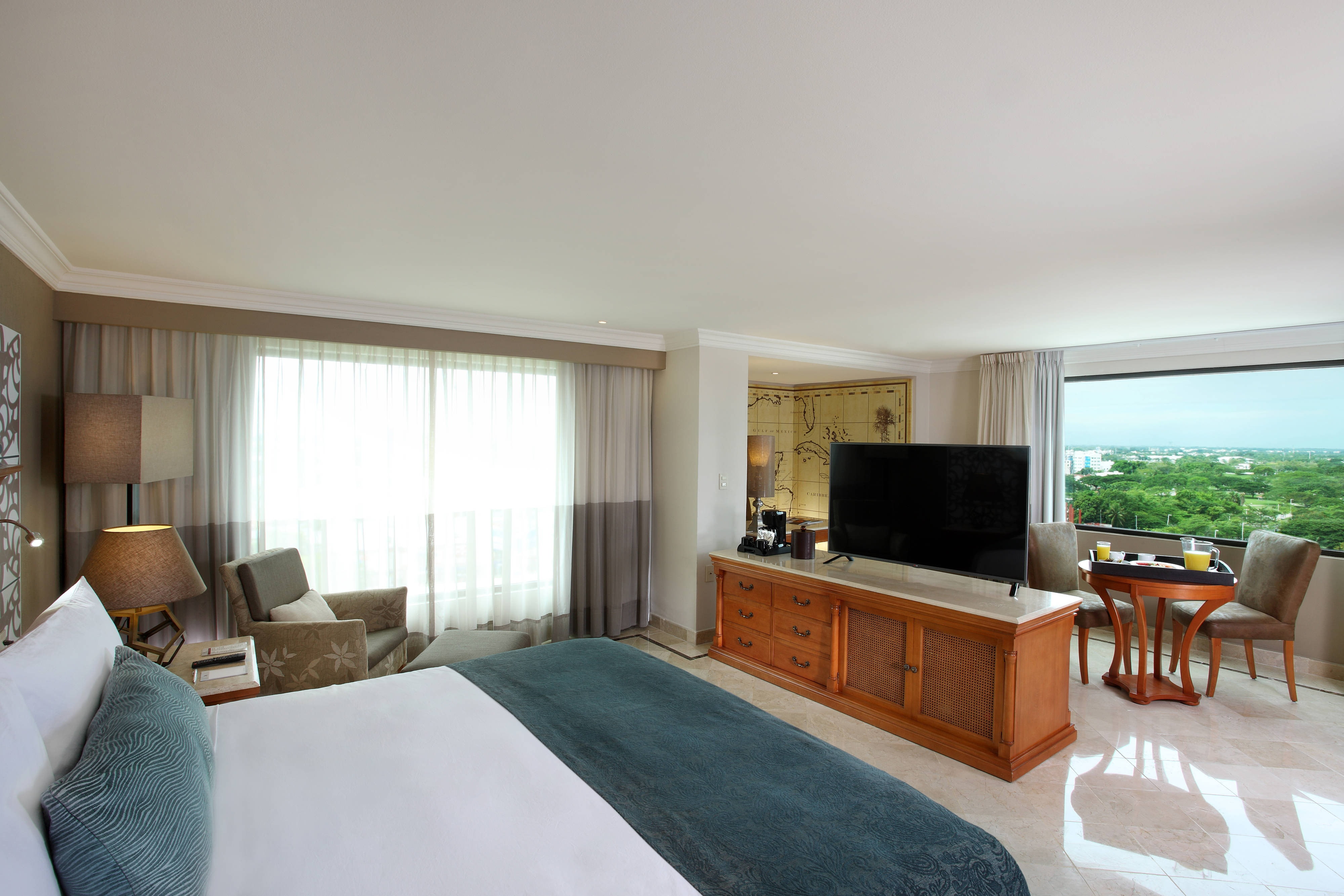 Suite Junior del hotel Marriott en Villahermosa