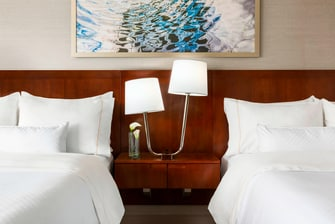 Double/Double Guest Room Headboard