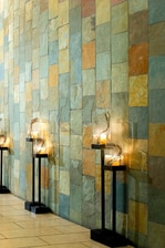 Lobby Slate Wall
