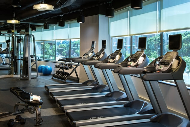 DC area hotel fitness center