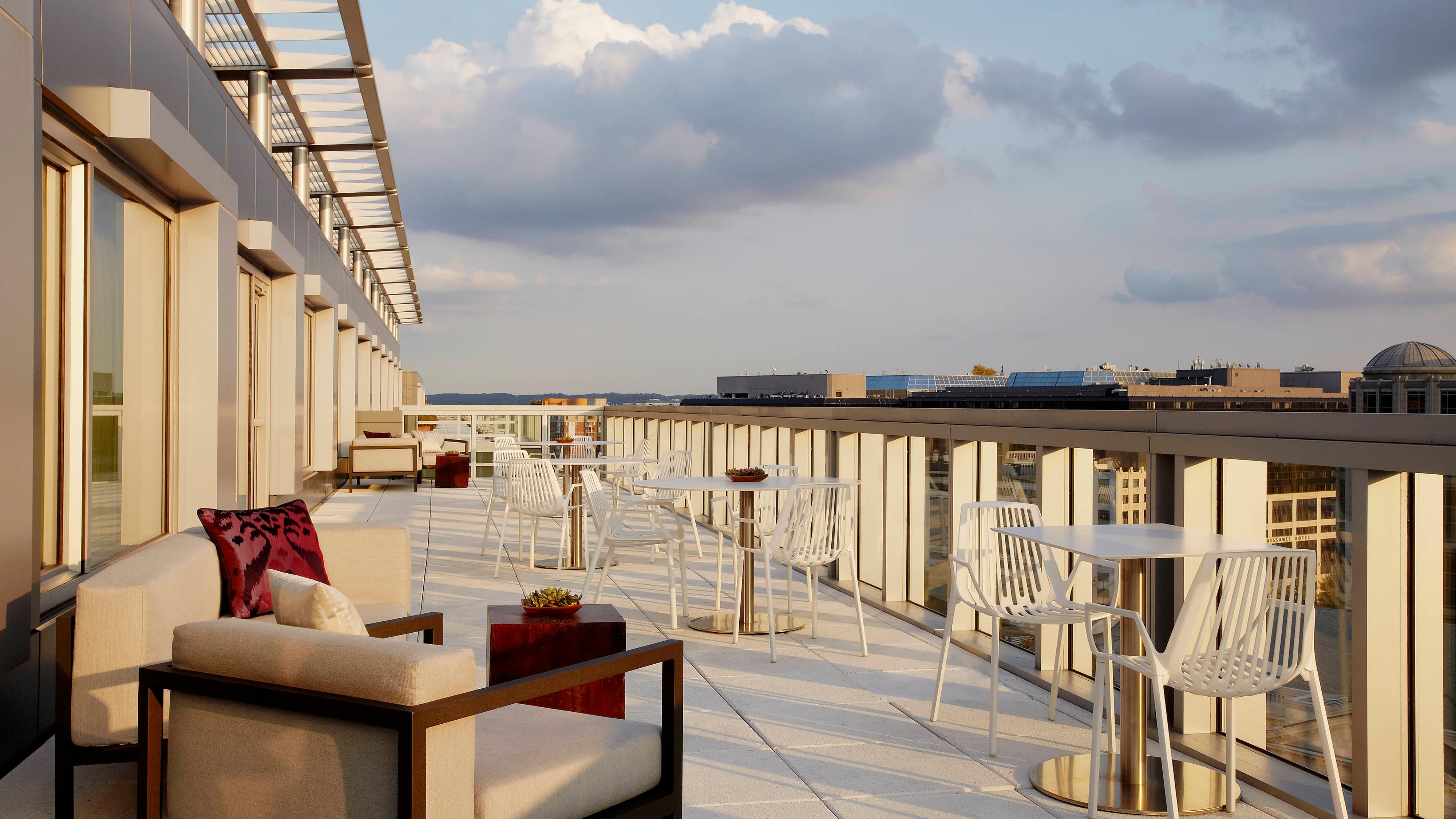 Lounge del hotel en Washington D.C.