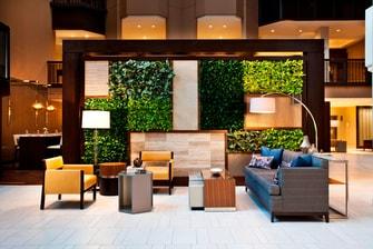 Lobby Vertical Garden