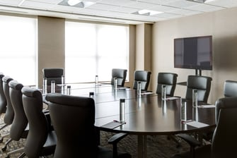 Lincoln Meeting Room – Boardroom Setup