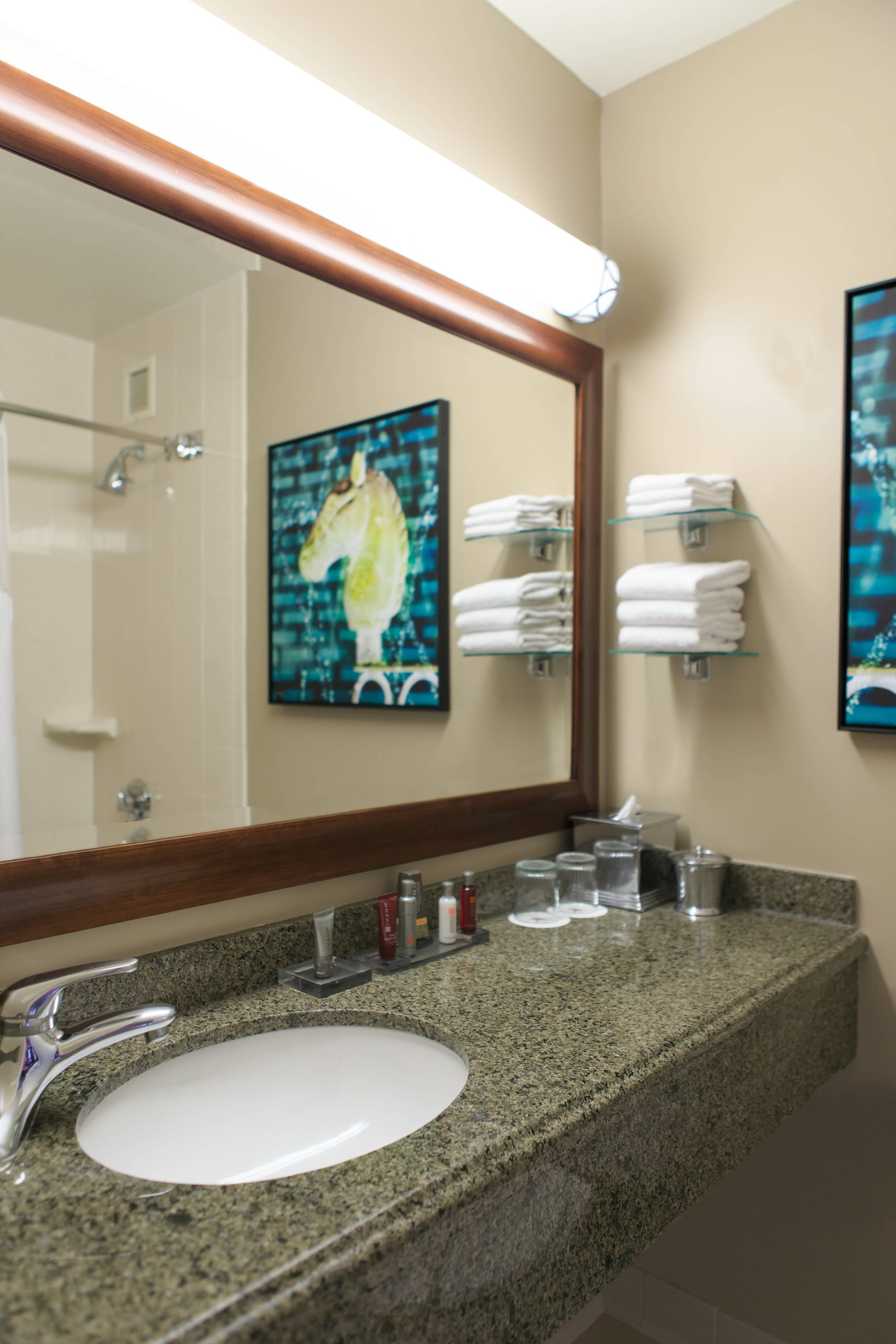 Baño de la suite Center Tower
