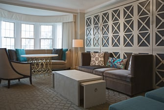 Wardman Tower Hospitality Suite – Living Area