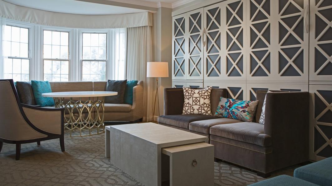 Wardman Tower Hospitality Suite – Living Area