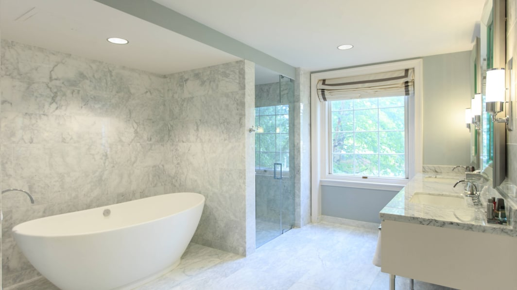 Wardman Tower Presidential Suite Bath
