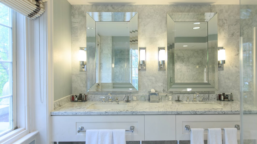 Wardman Tower Presidential Suite Vanity