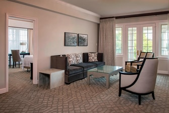 Wardman Tower Suite - Living Area