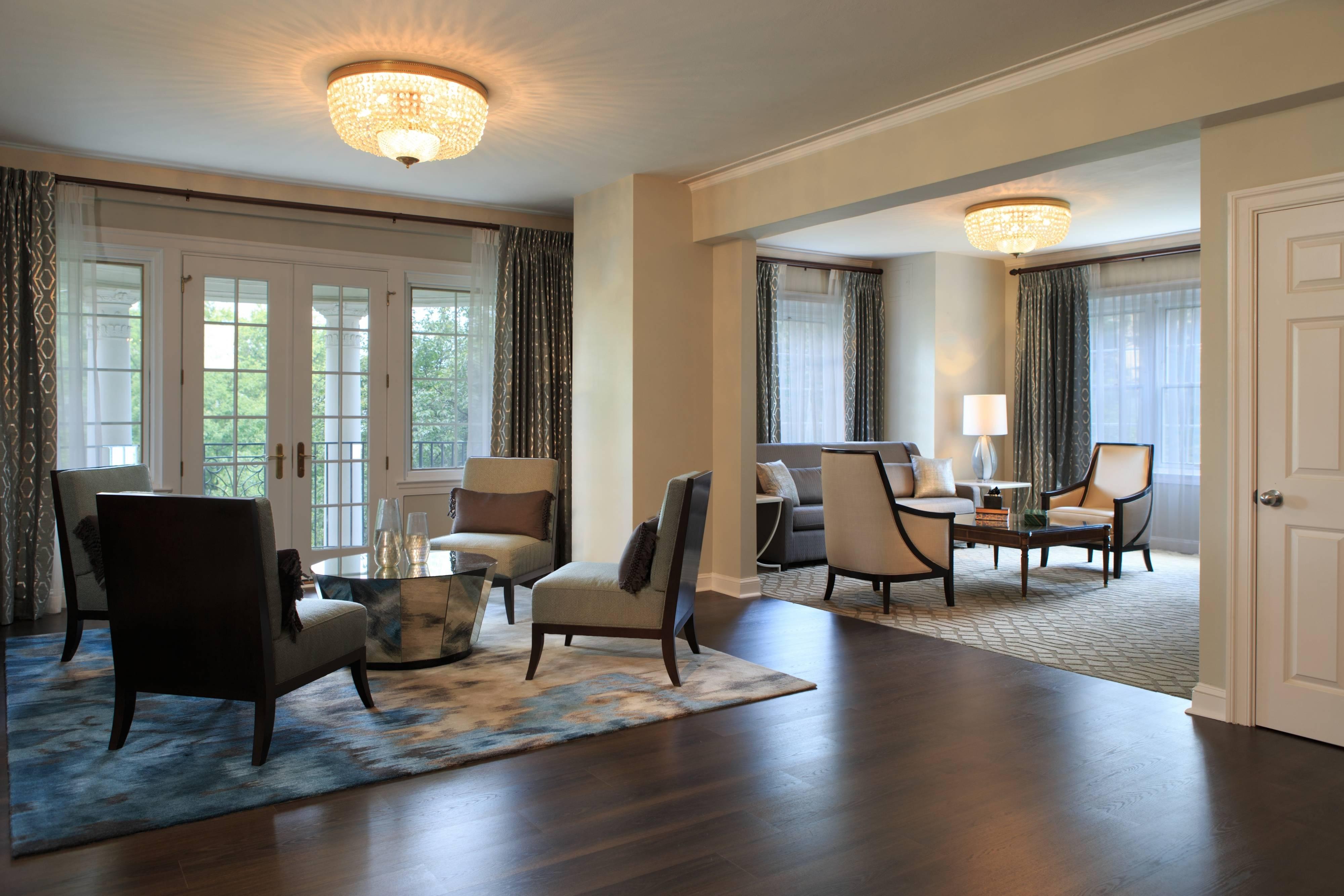 Präsidenten-Suite im Wardman Tower – Wohnbereich