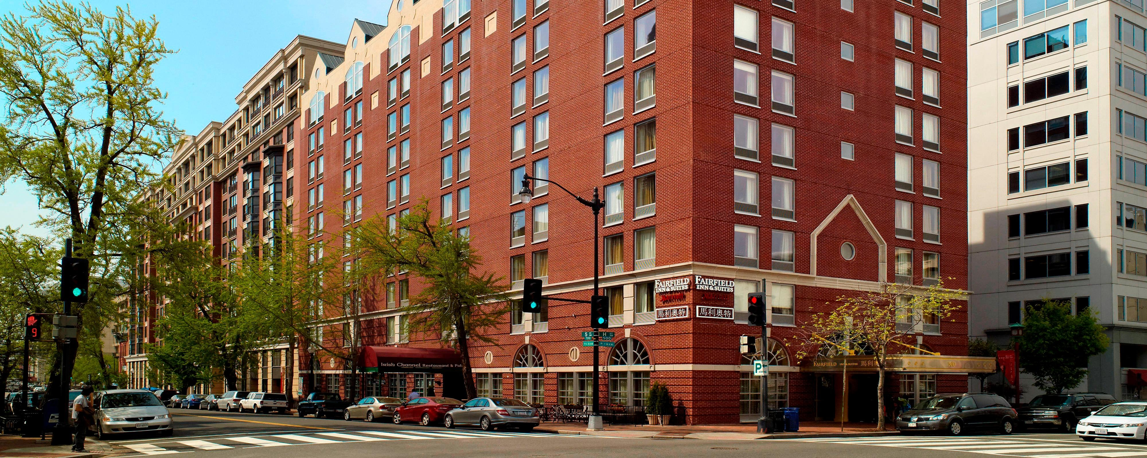 Hotels In Washington D C Downtown Fairfield Inn Suites