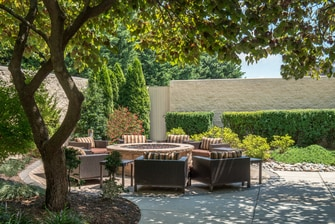 Courtyard Hotel Frederick Fire Pit