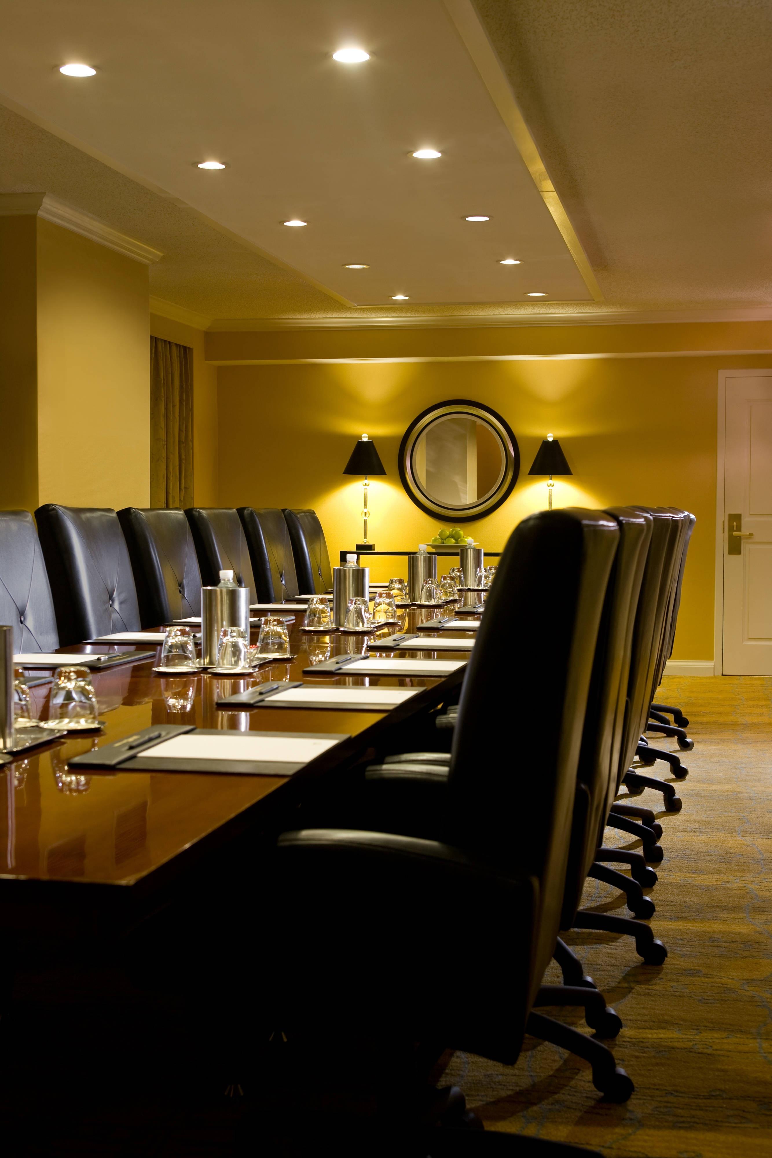Northern Virginia hotel boardroom