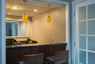 Kitchenette Area in Parlor Suite