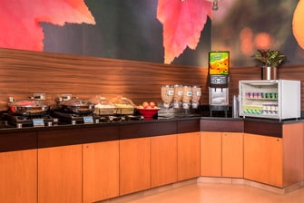 Fairfield Frederick Hotel Breakfast Buffet