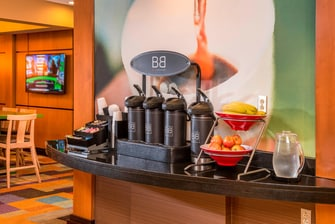 Fairfield Frederick Hotel Coffee Station