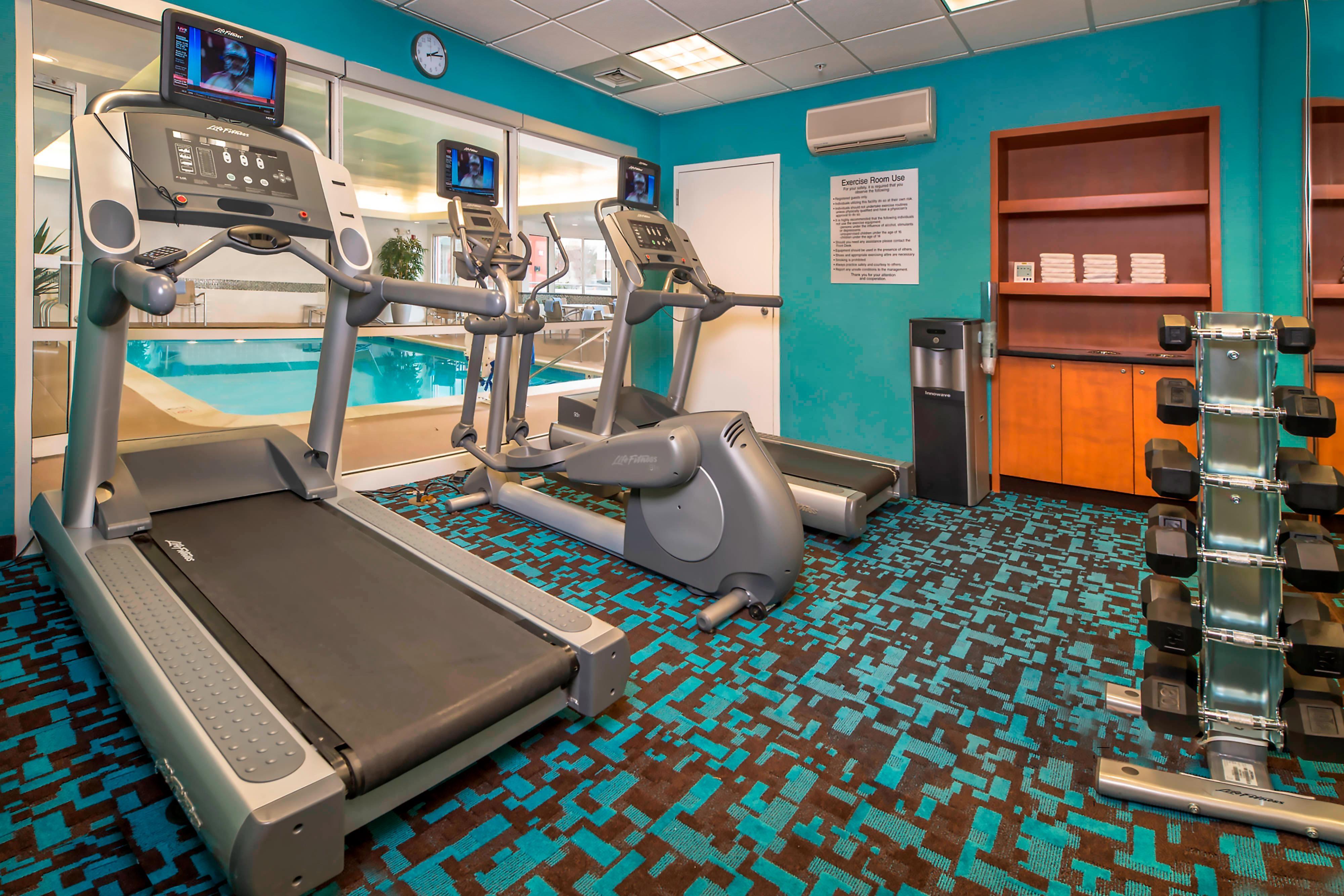 Fairfield Frederick Hotel Fitness Center