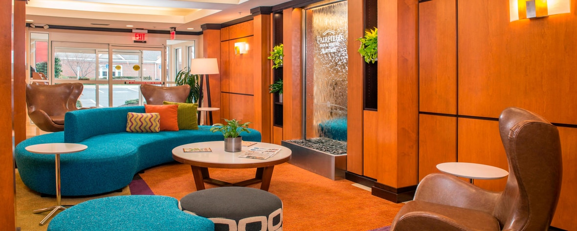 Fairfield Hotel in Frederick – Lobby